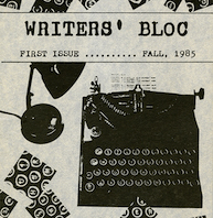 Detail of Writer's Bloc Cover