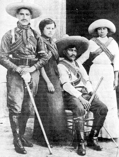 Write a biography of two figures of the mexican revolution and answer the question