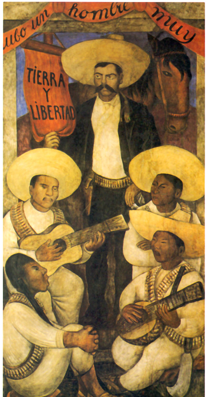10 april history this date for Emiliano zapata mural