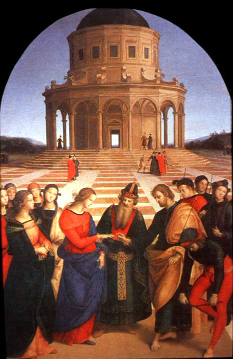 The Marriage Of The Virgin Raphael