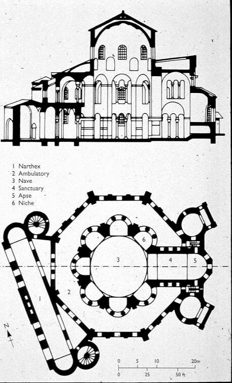 Church of San Vitale  Plan  amp Church Of San Vitale Plan