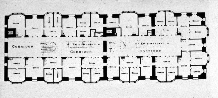 Commonadnock Flooring : burnham root monadnock building floor plan chicago il