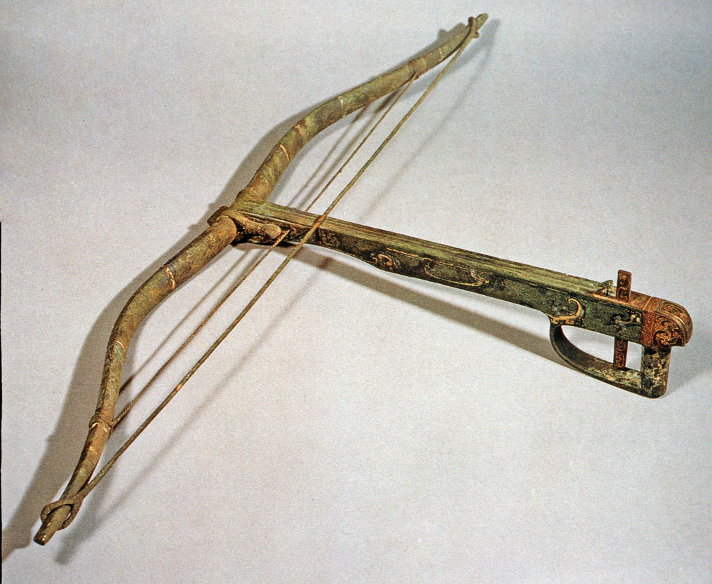 Chinese crossbow with auxiliary string? 05-0030