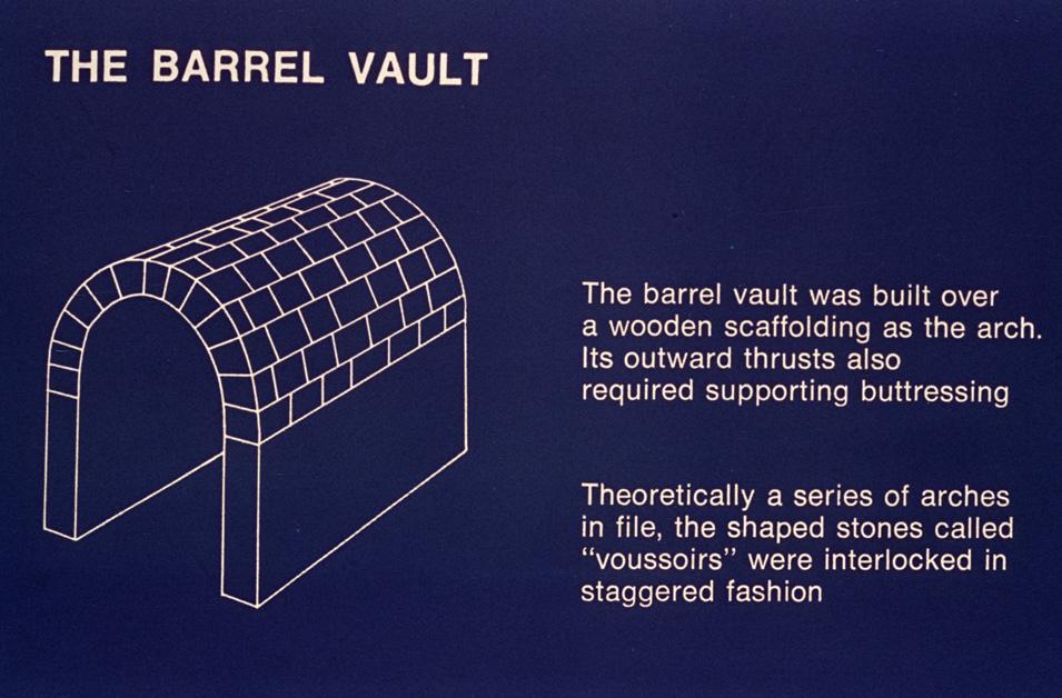 barrel vault diagram - photo #26