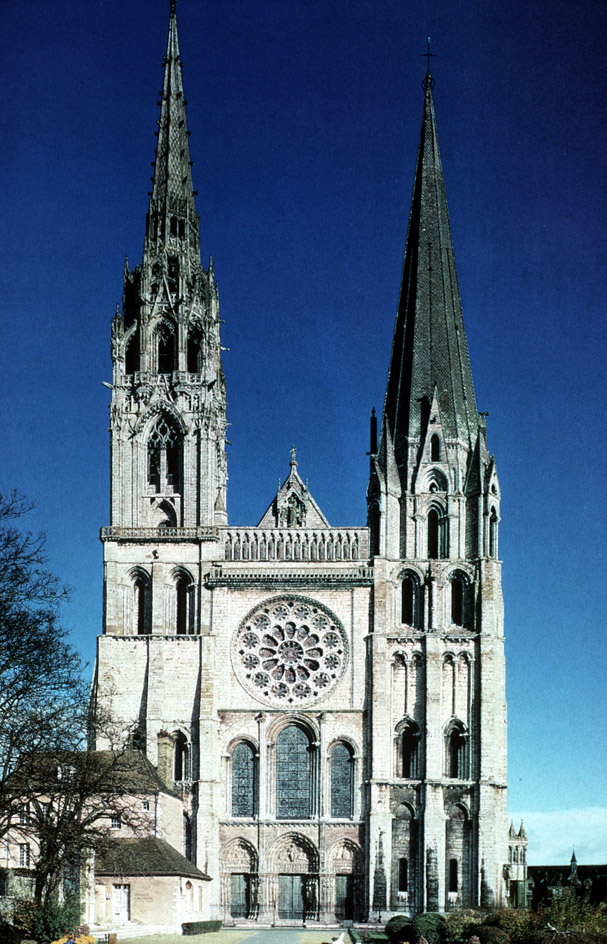 Chartres Cathedral West Facade Chartres Cathedral West Facade