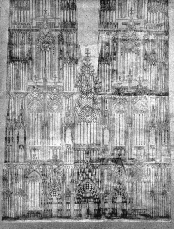 Cologne Cathedral Drawing Cologne Cathedral Drawing of