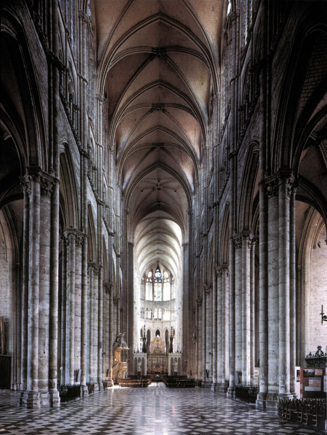 Chartres Cathedral Nave | www.pixshark.com - Images ...
