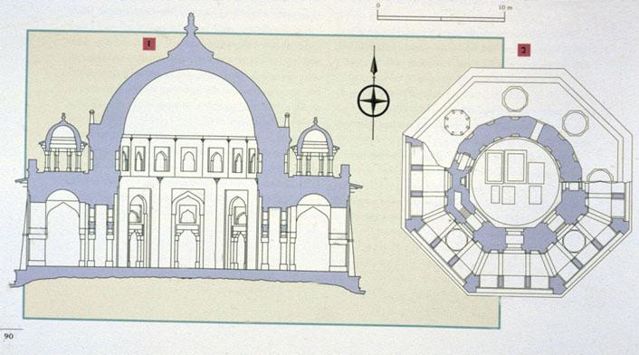DELHI  Tomb of Isa Kha...
