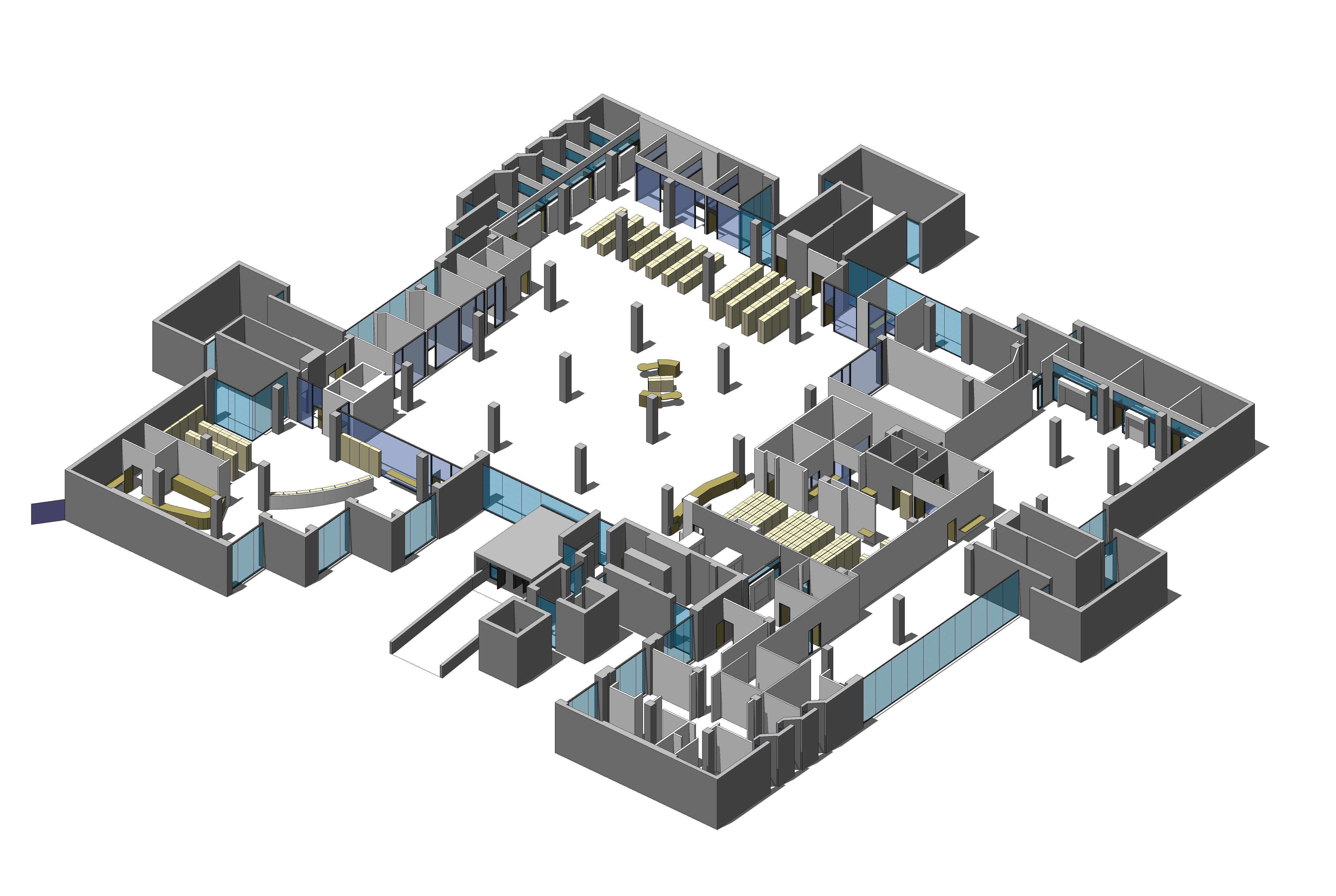 3D image of latest plan