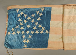 Silk American flag made in Thailand
