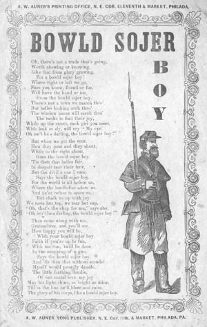 Oberlin College Library - Special Collections - Civil War Song Lyrics