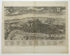 View of London about the Year 1560