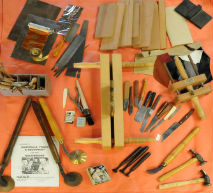 Tools for Bookbinding and Finishing