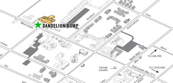 Dandelion Romp » Map & Directions